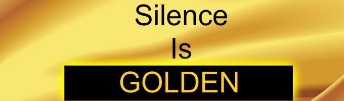 Silence Is Golden. (Frerard)