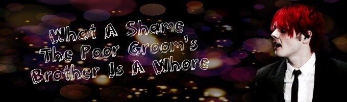 What A Shame The Poor Groom's Brother Is A Whore