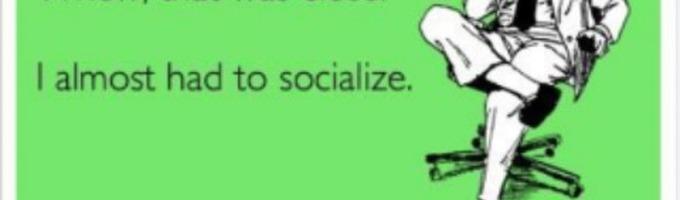 A Very Very Complicated Handbook on Socializing. Vol (1)